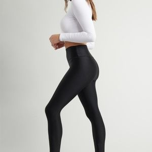 Garage Luxe Shiny High Rise Legging